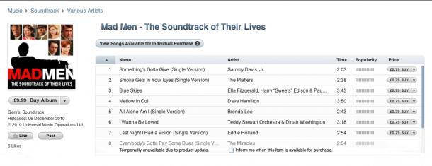 iTunes Alt Mock UP