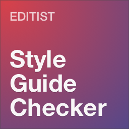 Editorial Style Guide Checker WordPress Plugin by Editist